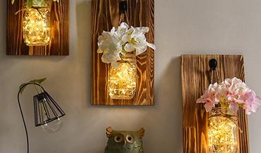 Objets decoratifs en bois